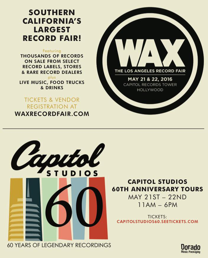 Capitol studios wax-record-fair-flier